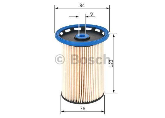 F 026 402 855 Bränslefilter BOSCH Test