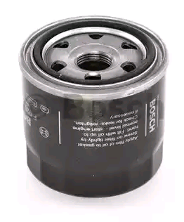 Hyundai i20 2019 Oil filter BOSCH F 026 407 124: Screw-on Filter