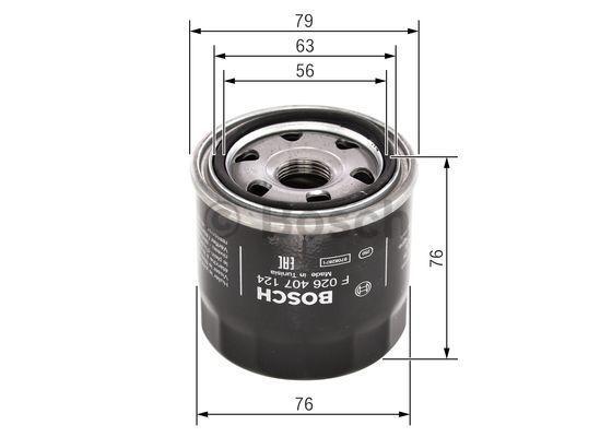 BOSCH   Oil Filter F 026 407 124
