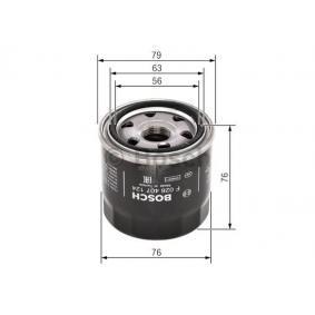 F026407124 Ölfilter BOSCH F 026 407 124 - Große Auswahl - stark reduziert