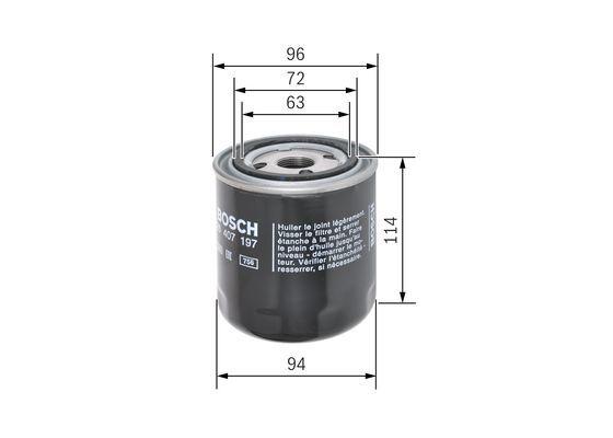F 026 407 197 Filtro idraulico, Cambio automatico