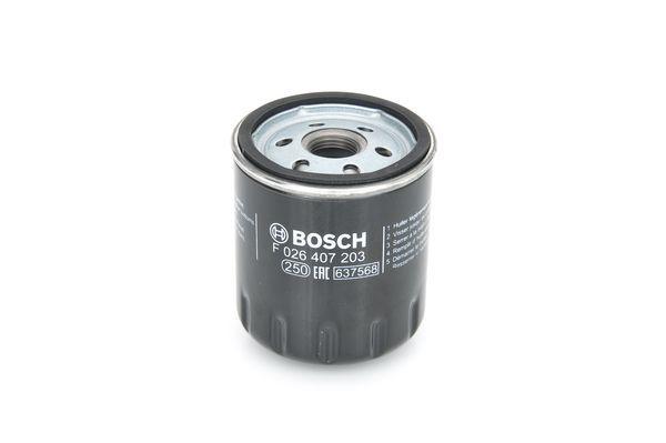 Маслен филтър F 026 407 203 с добро BOSCH съотношение цена-качество
