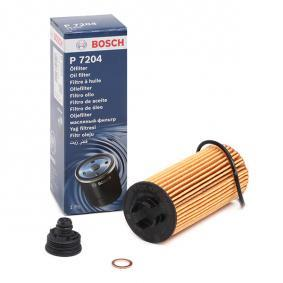 Pirkti P7204 BOSCH filtro įdėklas Ø: 53mm, aukštis: 125,1mm Alyvos filtras F 026 407 204 nebrangu