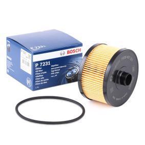 P7231 BOSCH Insertie filtru Ř: 91mm, Înaltime: 63mm Filtru ulei F 026 407 231 cumpără costuri reduse