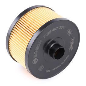 F026407231 Filtru ulei BOSCH F 026 407 231 Selecție largă — preț redus