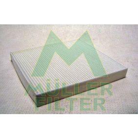 FC485 MULLER FILTER Partikelfilter Breite: 235mm, Höhe: 30mm, Länge: 255mm Filter, Innenraumluft FC485 günstig kaufen