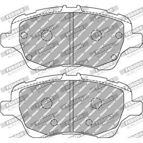 FCP4612H FERODO RACING Br. 1 [mm]: 60,5mm, Tjocklek 1: 17,5mm Bromsbeläggssats, skivbroms FCP4612H köp lågt pris