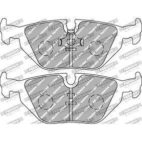 FCP850H FERODO RACING Breite 1: 43,6mm, Dicke/Stärke 1: 16,0mm Bremsbelagsatz, Scheibenbremse FCP850H günstig kaufen