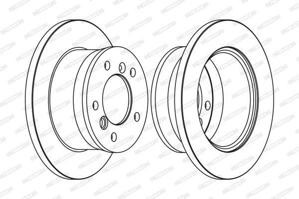 Achetez Disque de frein FERODO FCR229C (Ø: 272mm, Nbre de trous: 5, Épaisseur du disque de frein: 16mm) à un rapport qualité-prix exceptionnel