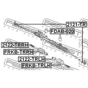 FDAB020 Lagerung, Lenkgetriebe FEBEST FDAB-020 - Große Auswahl - stark reduziert
