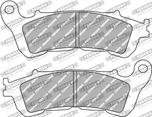 FERODO RACING Zestaw klocków hamulcowych, hamulce tarczowe FDB2196ST HARLEY-DAVIDSON