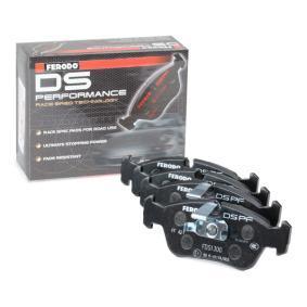 FDS1300 FERODO RACING Breite 1: 57,5mm, Dicke/Stärke 1: 16,9mm Bremsbelagsatz, Scheibenbremse FDS1300 günstig kaufen