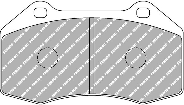 Disk pads FDS1667 FERODO RACING — only new parts