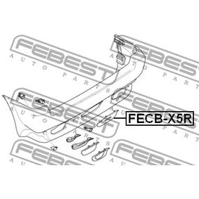 FECBX5R Tampa, gancho de reboque FEBEST FECB-X5R Enorme selecção - fortemente reduzidos