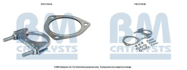 FK11151 BM CATALYSTS Montagesatz, Ruß- / Partikelfilter FK11151 günstig kaufen