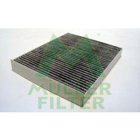 FK218 MULLER FILTER Aktivkohlefilter Breite: 216mm, Höhe: 30mm, Länge: 277mm Filter, Innenraumluft FK218 günstig kaufen