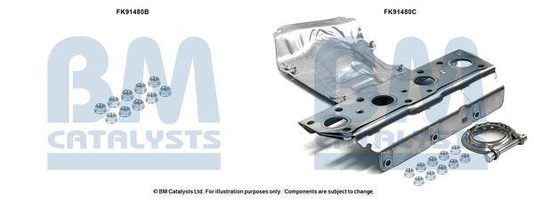 OE Original Montagesatz Vorkatalysator FK91480 BM CATALYSTS