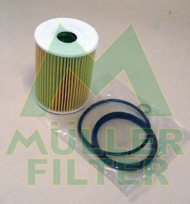 FOP350 MULLER FILTER Filtereinsatz Innendurchmesser: 21mm, Innendurchmesser 2: 26mm, Ø: 65mm, Höhe: 83mm Ölfilter FOP350 günstig kaufen