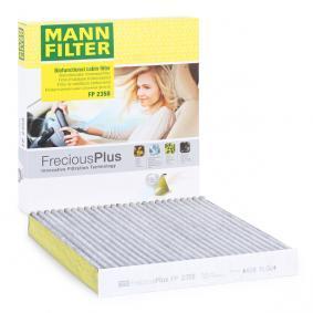Filtr, wentylacja przestrzeni pasażerskiej MANN-FILTER FP 2358 kupić i wymienić
