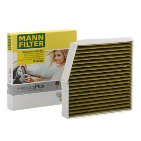 FP 26 007 MANN-FILTER Aktivkohlefilter mit Polyphenol, mit antibakterieller Wirkung, Feinstaubfilter (PM 2.5), mit fungizider Wirkung, Aktivkohlefilter, FreciousPlus Breite: 254mm, Höhe: 43mm, Länge: 240mm Filter, Innenraumluft FP 26 007 günstig kaufen