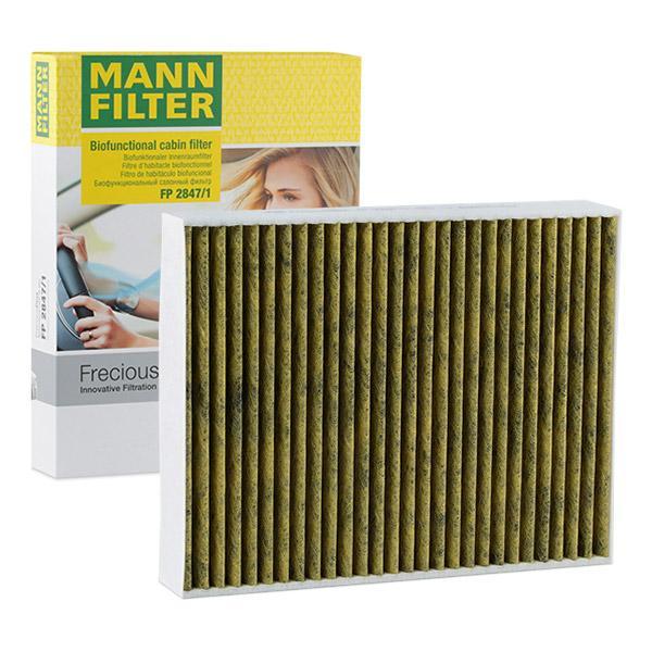 MANN-FILTER Pollen Filter VW,PORSCHE FP 2847/1 95857221900 Cabin Filter,Cabin Air Filter,Filter, interior air