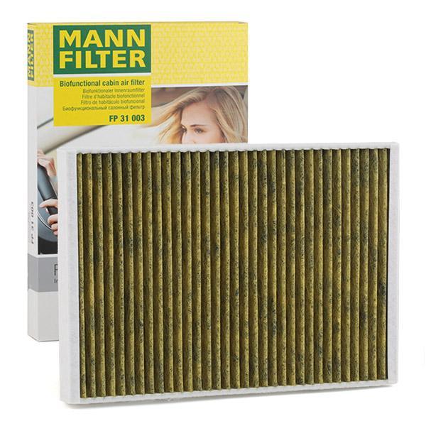 MANN-FILTER Pollen Filter AUDI,PORSCHE,BENTLEY FP 31 003 PAB81943900 Cabin Filter,Cabin Air Filter,Filter, interior air