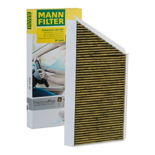 MANN-FILTER Pollen Filter PEUGEOT FP 3448 002435,002436,6447AZ Cabin Filter,Cabin Air Filter,Filter, interior air 6447PE,6447TF