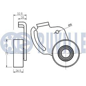 Comprar y reemplazar Cojienete de rodillos, columna amortiguación RUVILLE 865308