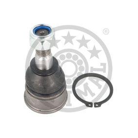 G3-1100 OPTIMAL framaxel, Nedre, Tvåsidig, med säkringsring Konmått: 15,5mm Stöd- / Styrstag G3-1100 köp lågt pris