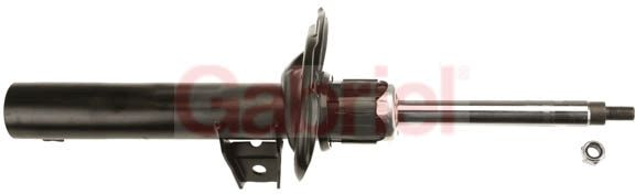 G54302 GABRIEL Vorderachse, Gasdruck, Zweirohr, Federbein, oben Stift, unten Brücke Länge: 344mm, Ø: 51mm, Ø: 51mm Stoßdämpfer G54302 günstig kaufen