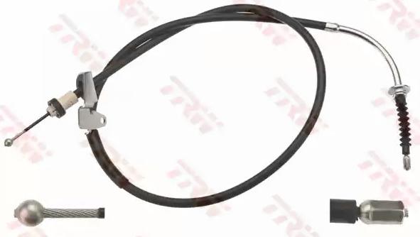 TRW: Original Handbremse GCH700 (Länge: 1402/1255mm)
