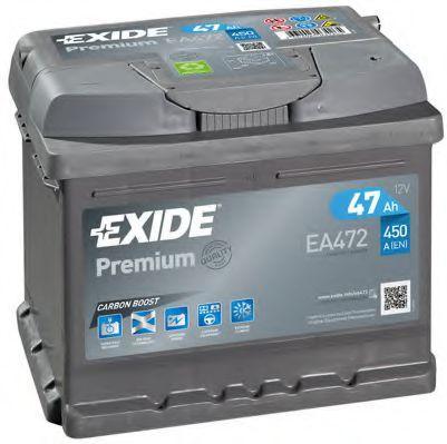 Pieces detachees VOLKSWAGEN FRIDOLIN 1969 : Batterie de démarrage EXIDE EA472 Courant d'essai à froid, EN: 450A, Volt: 12V - Achetez tout de suite!