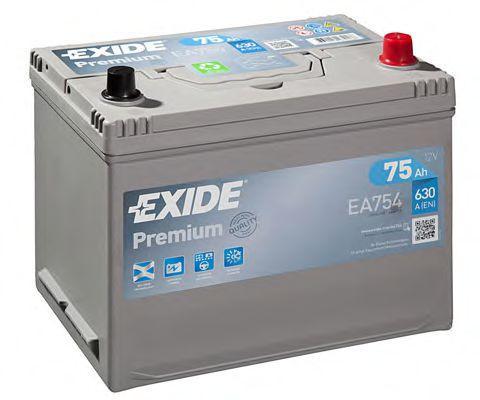 Accesorios y recambios BMW GLAS 1967: Batería de arranque EXIDE EA754 a un precio bajo, ¡comprar ahora!