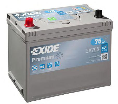 Original SSANGYONG Autobatterie EA755