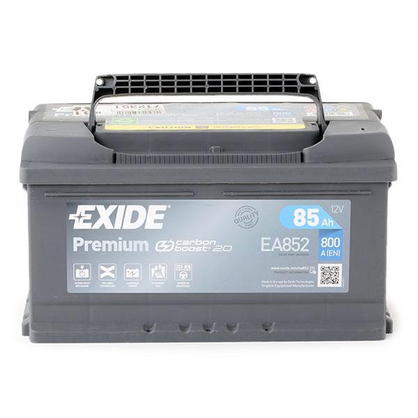 EA852 EXIDE Starterbatterie Bewertung