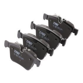 GDB2110 Bremsbelagsatz, Scheibenbremse TRW 22141 - Große Auswahl - stark reduziert