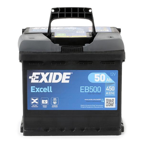 EB500 EXIDE Starterbatterie Bewertung