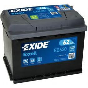 EB620 Starterbatterie EXIDE 56219 - Große Auswahl - stark reduziert
