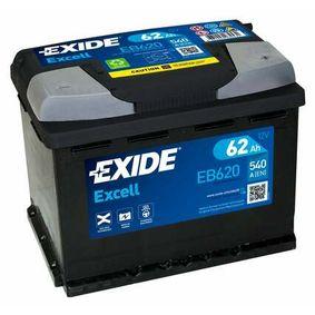 EB620 Starterbatterie EXIDE in Original Qualität