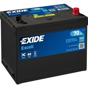 EB704 Starterbatterie EXIDE 030SE - Große Auswahl - stark reduziert