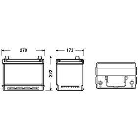 EB704 Starterbatterie EXIDE - Markenprodukte billig