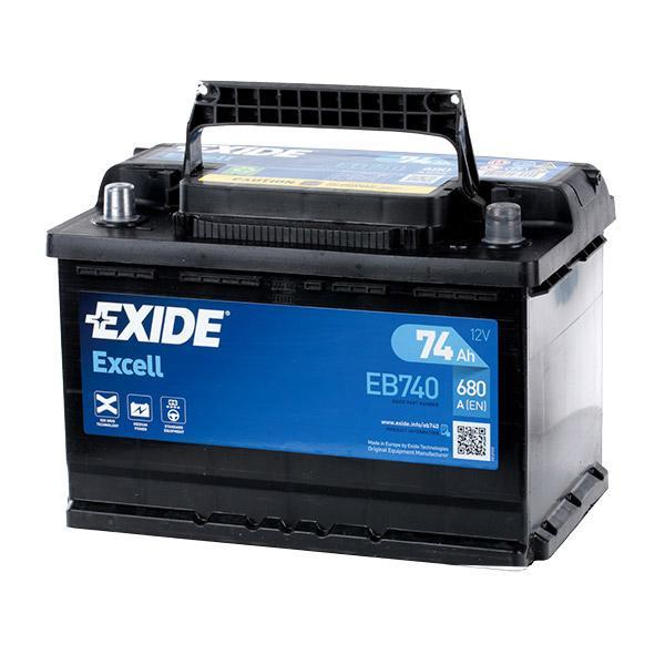 Starterbatterie EXIDE EB740 Bewertungen