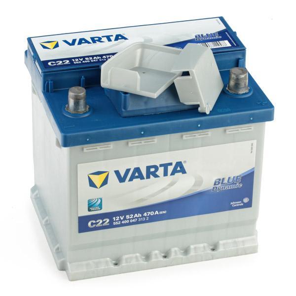 VARTA   Starterbatterie 5524000473132