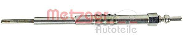 METZGER: Original Glühkerzen H1 411 (Länge über Alles: 154mm, Gewindemaß: M10x1)