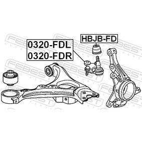 HBJBFD Reparatursatz, Trag- / Führungsgelenk FEBEST HBJB-FD - Große Auswahl - stark reduziert