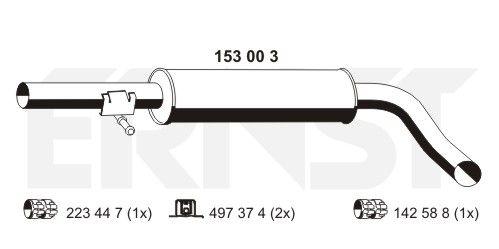 ERNST: Original MSD Attrappe 153003 ()