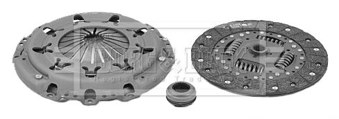 Clutch kit HK2074 BORG & BECK — only new parts