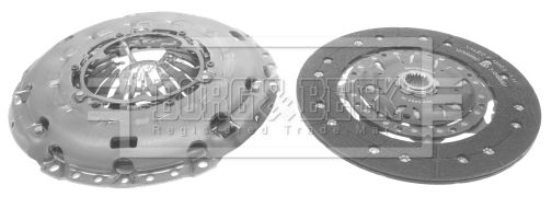 Clutch set HK2512 BORG & BECK — only new parts