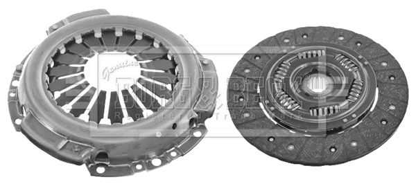 Clutch set HK7718 BORG & BECK — only new parts