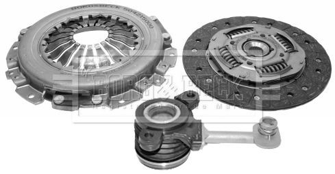Clutch kit HKT1161 BORG & BECK — only new parts